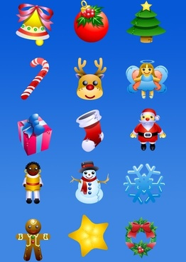 Christmas Dolls Icons icons pack