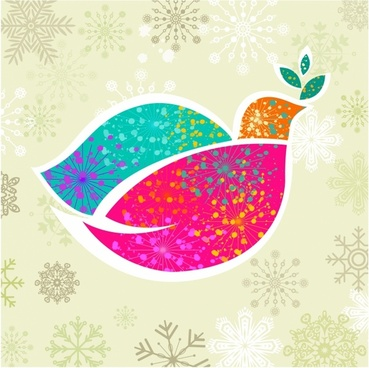 Christmas dove of peace