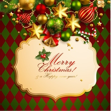 christmas elements background 01 vector