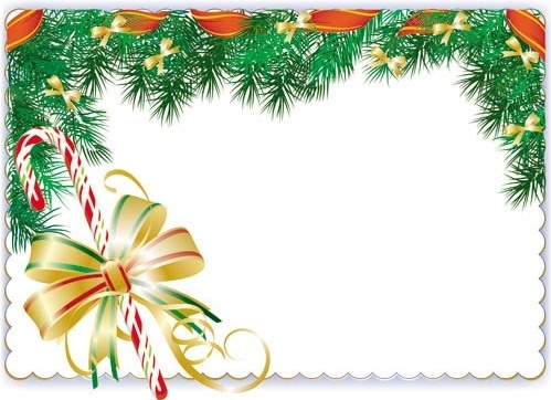 christmas elements border 01 vector