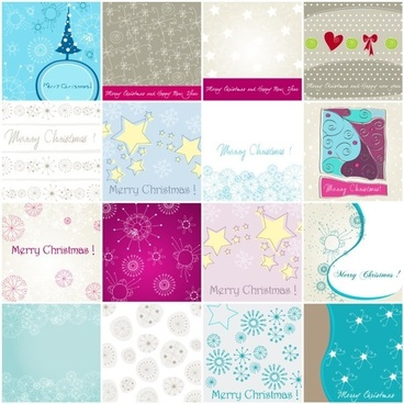 christmas elements of 02 vector