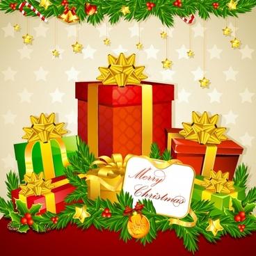 christmas festive christmas star vector