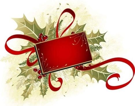 Christmas Floral Corner Border Free Vector Download 19 070 Rh All Com Clip Art Ornament