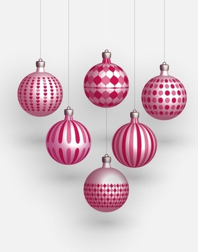 Christmas Freebies – Vector Balls