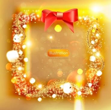 decorative xmas background modern luxury bright sparkling baubles