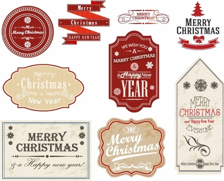 Christmas Gift Tags and Labels