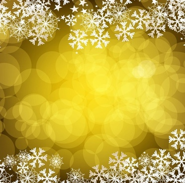 christmas golden background vector graphic