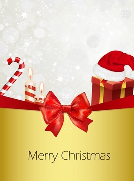 christmas greeting card background vector graphic