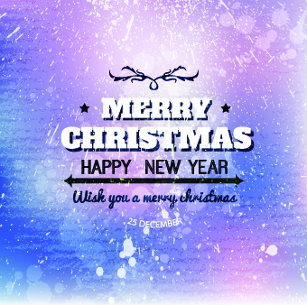 christmas grunge vector backgrounds