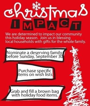 Christmas Impact