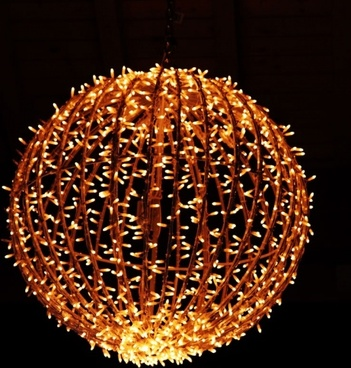 christmas light ball