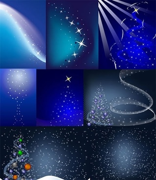 christmas light spot background vector