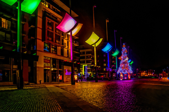 christmas lights 2014 smithfield in dublin ref 100855