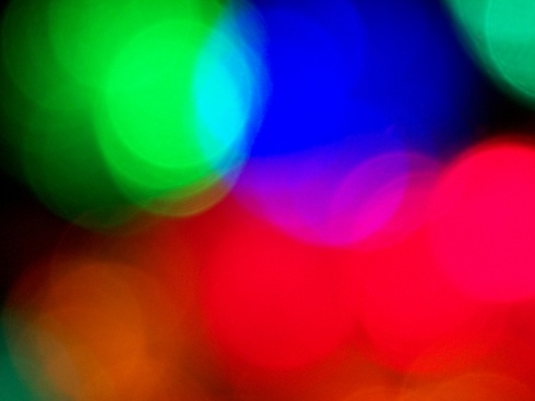 christmas lights focus
