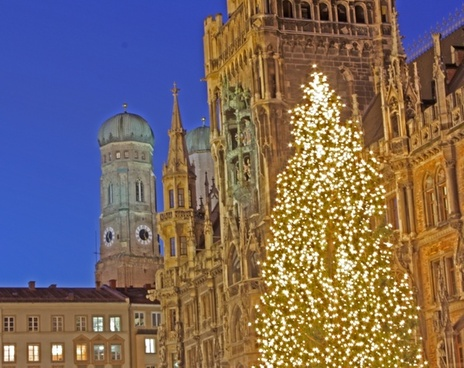 christmas munich town hall