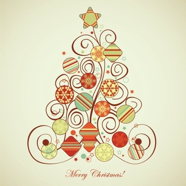 christmas pattern illustrator 03 vector