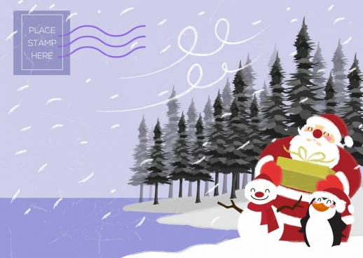Christmas poster template free vector download (23,372 Free vector ...