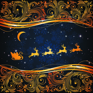 christmas reindeer decorations background