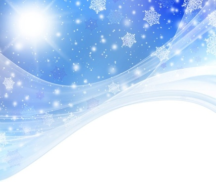 christmas snowflake fantasy background 05 hd pictures