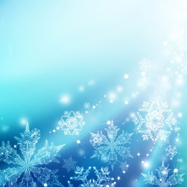christmas snowflake fantasy background hd picture