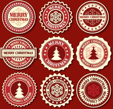 christmas snowflake pattern christmas tree vector