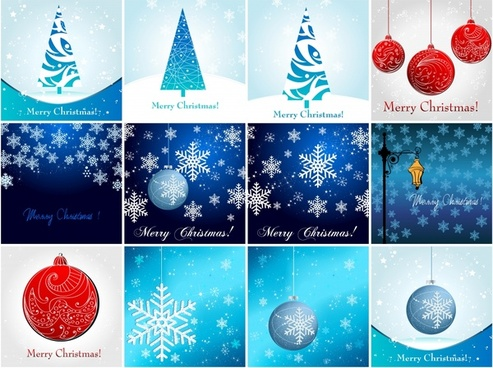 christmas snowflake snow christmas tree vector
