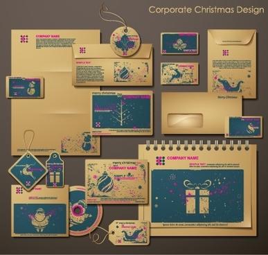 christmas snowflake vector envelope bag