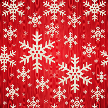 christmas snowflakes patterns design vector