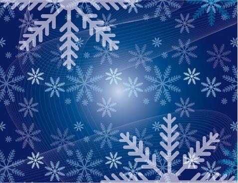 christmas snowflakes snowy