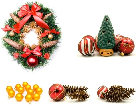 christmas theme elements highdefinition picture
