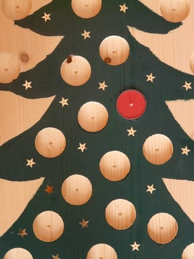 christmas tree advent calendar advent