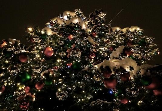 christmas tree christmas balls