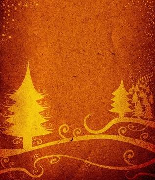 christmas tree nostalgia shading background 02 hd picture