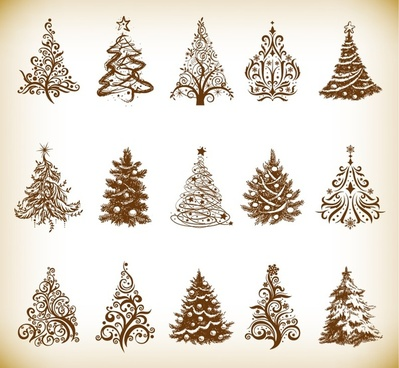 Christmas Tree Svg Free Download.Free Christmas Tree Clip Art Vector Images Free Vector
