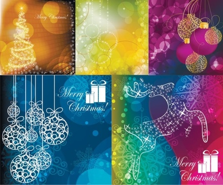 christmas vector background dream