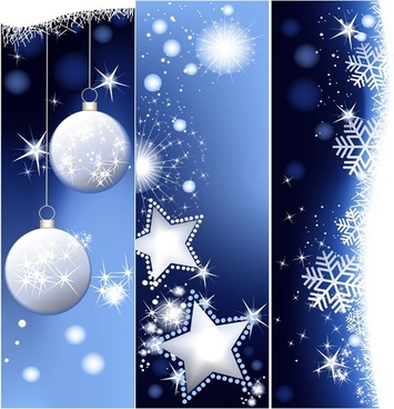 christmas vertical shaped banner vector background