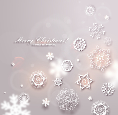 christmas winter backgrounds vector