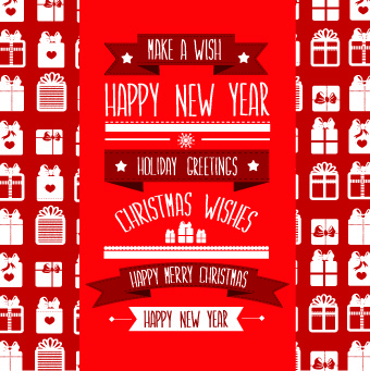 christmas wishes background vector