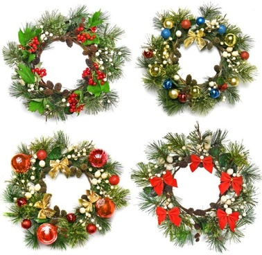 christmas wreath 01 hd pictures