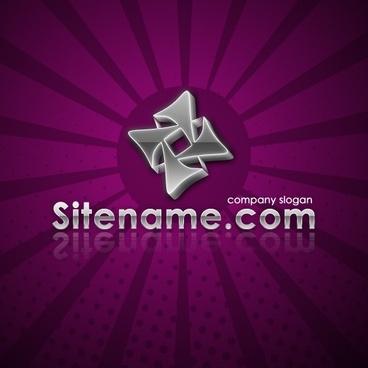 Chrome Logo – Free PSD Logo