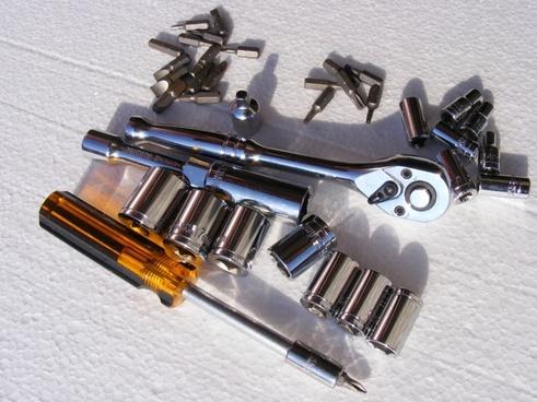 chrome screwdriver set