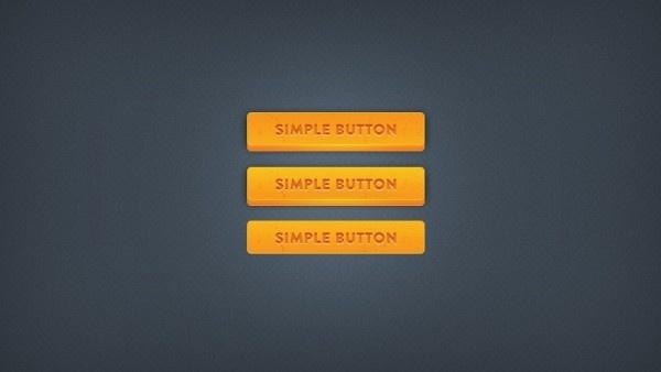 Chunky 3D Button