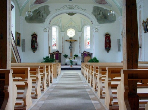 church nave jesus