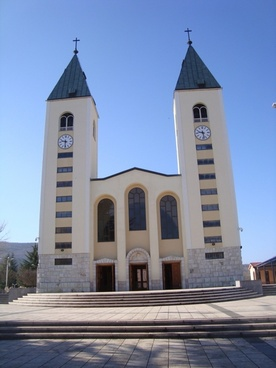church our lady of medjugorje medjugorje in the church