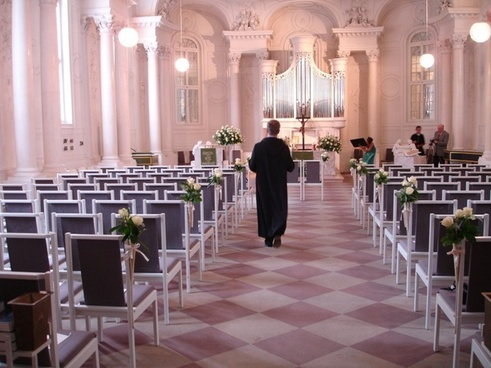 church pastor wedding