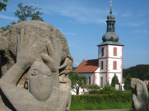 church sculpture monument