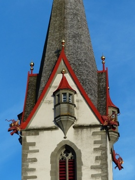 church steeple stone most pure