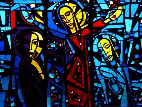 church window glass window