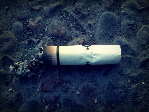 cigarette cigarette butt smoking