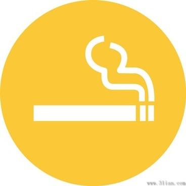 cigarette icons vector